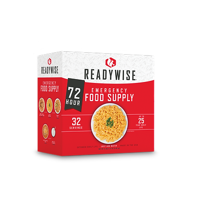 72 Hour Survival Food & Drink Kit