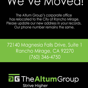 Our Headquarters has Relocated!