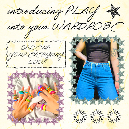 Introducing Play Into Your Wardrobe