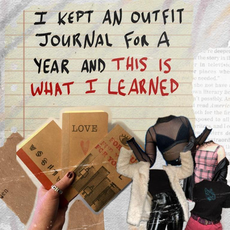 I Kept an Outfit Journal for a Year and This is What I Learned