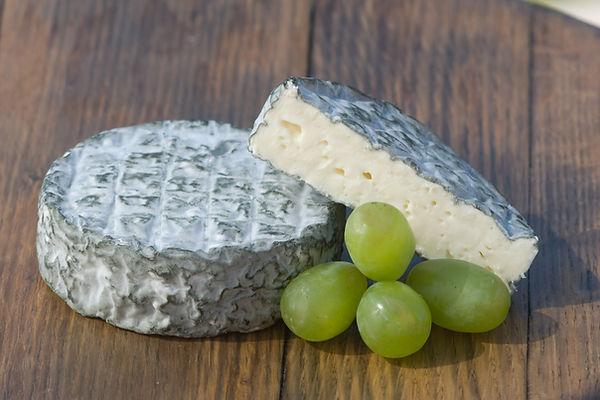Natamata Bench Blue by Polar Grove Cheese, Okanagan Cheese