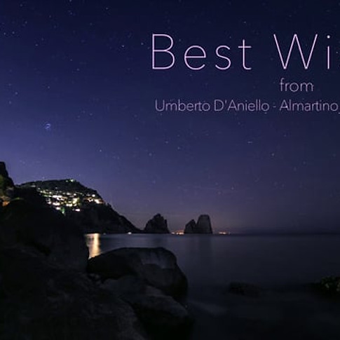 Capri - Deep in the night - Best Wishes from Umberto D'Aniello - Almartino - Nicole Renaud