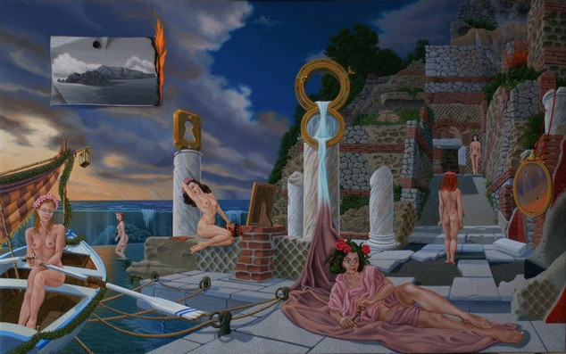 Ugo Di Martino — Painter of surrealism — Capri
