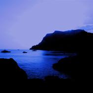 View towards the bay of Marina Piccola, Capri