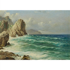 Michele Federico The sea at Capri