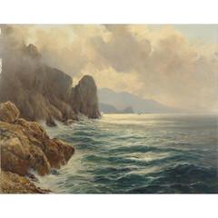 Michele Federico A Misty Morn Capri