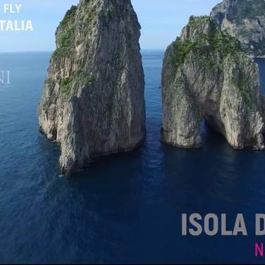 ISOLA DI CAPRI 2017 — Diego Ciciliati —OSSERVATA DAL DRONE ---- Isle of Capri observed by a drone