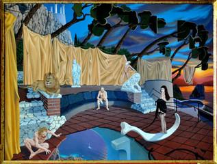 Ugo Di Martino — Painter of surrealism — Capri