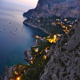 Full moon on Capri