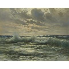Michele Federico THE DEEP WAVES OF THE SEA, CAPRI
