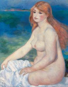 Renoir, La Bagnante bionda, 1882