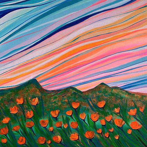 Poppies Superbloom Canvas Print