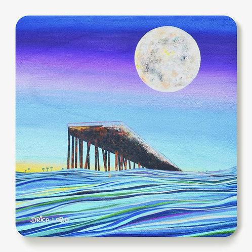 Slights of Summer Wooden Coaster