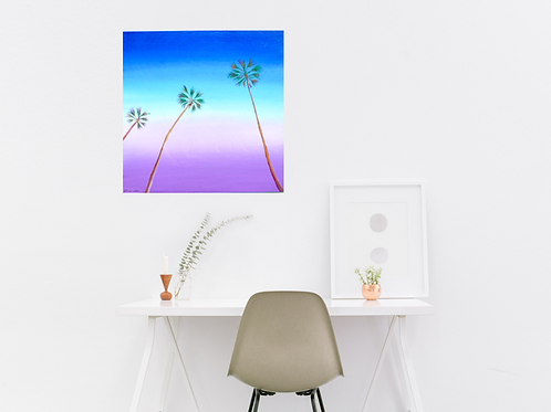 Monday Like These Canvas Print