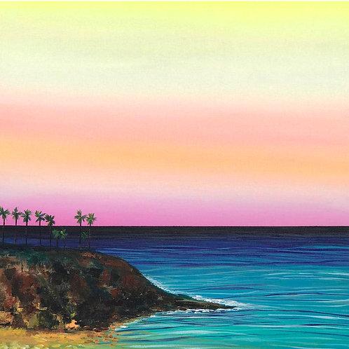 Live Laguna Canvas Print