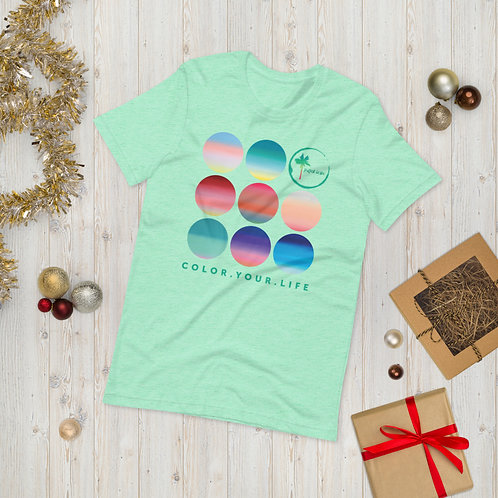 Colorful Gradients | cotton tee