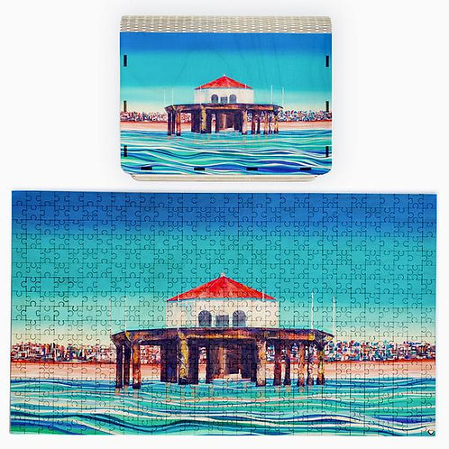 Surfer's Eye 500 Piece Puzzle