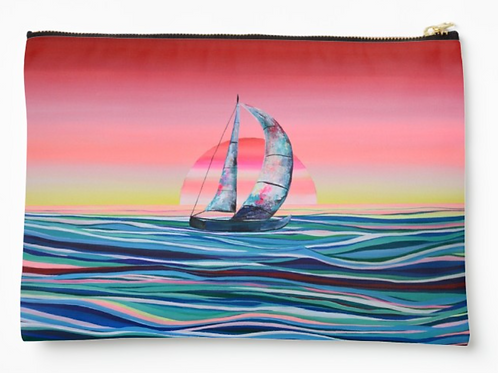 Sailing Away Pouch