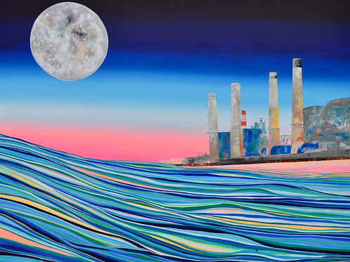 Moonlight Over The Industries
