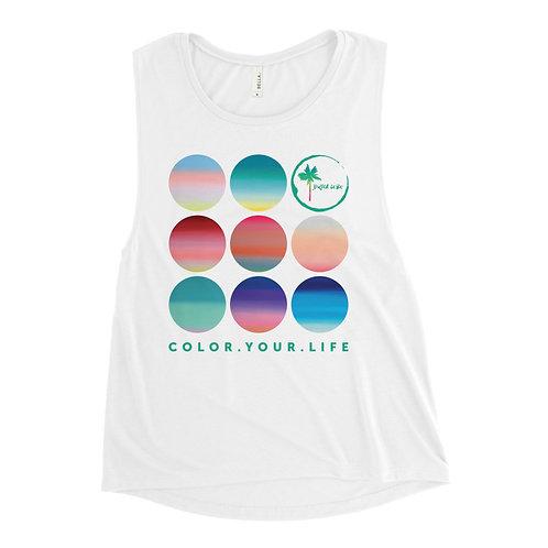 Colorful Gradients | cotton tank