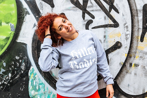 KILLER BODIES GREY CREWNECK SWEATSHIRT
