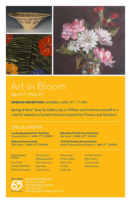 A special demonstration of Ikebana Floral Art by Ellen P. Flynn