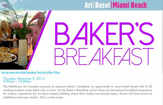 Ellen P. Flynn Ikebana Floral Art ART Basel Miami Beach 2014