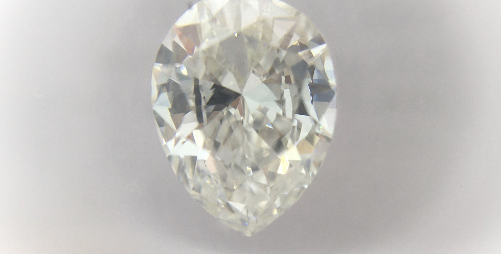 Pear Shape 0.53ct E VVS1 certified by IGI