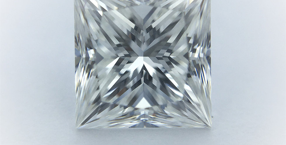 Princess 1.13ct F IF certified by GIA