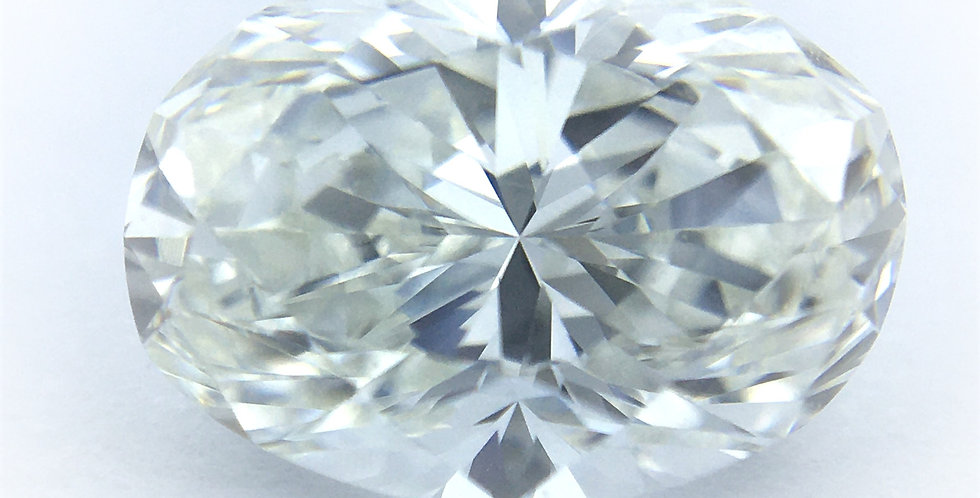 Oval 1.5ct G IF certified by GIA