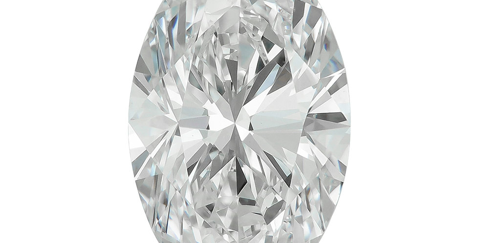 Oval 1.51ct D IF certified by GIA
