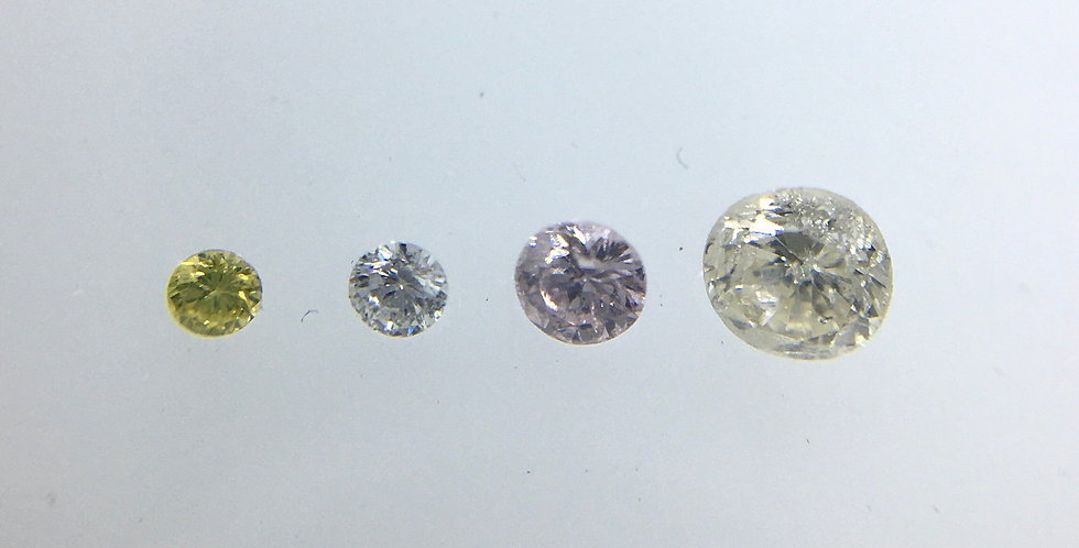 GIVEAWAY! 4 Natural Diamonds 0.10cts