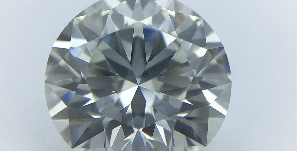 Round Brilliant 1.04ct J IF certified by HRD