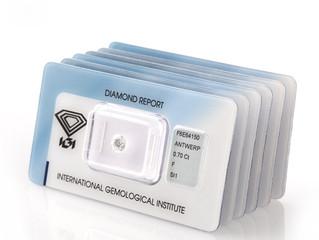 Diamantes com Certificado