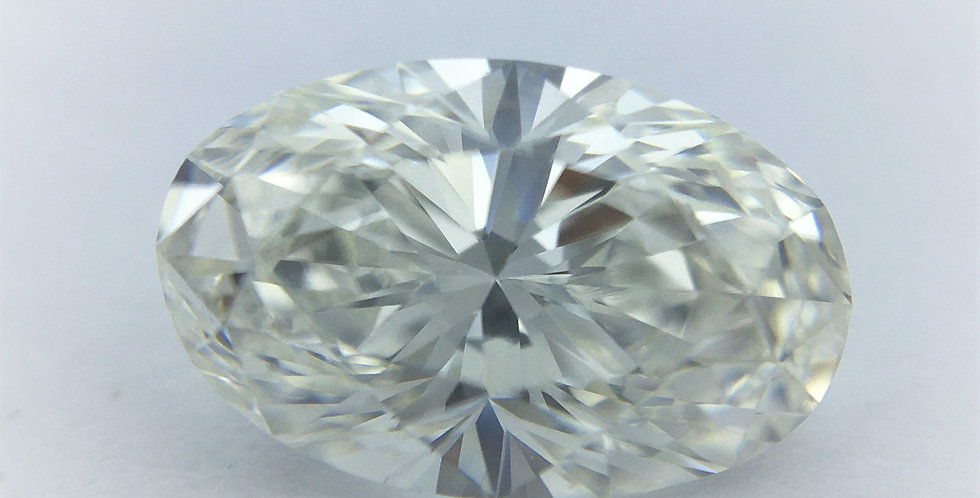 Oval 1.07ct I VVS1 certified by GIA