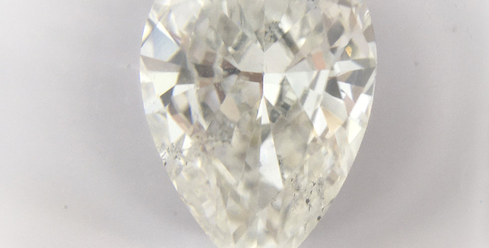 Pear Shape 1.51ct G SI2 certified by IGI