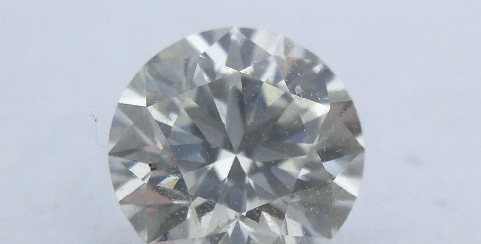 Round Brilliant 0.41ct I VVS2 certified by GIA