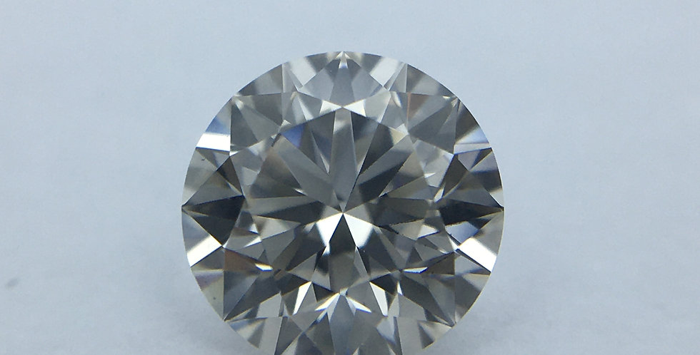 Round Brilliant 0.55ct J VVS2 certified by HRD