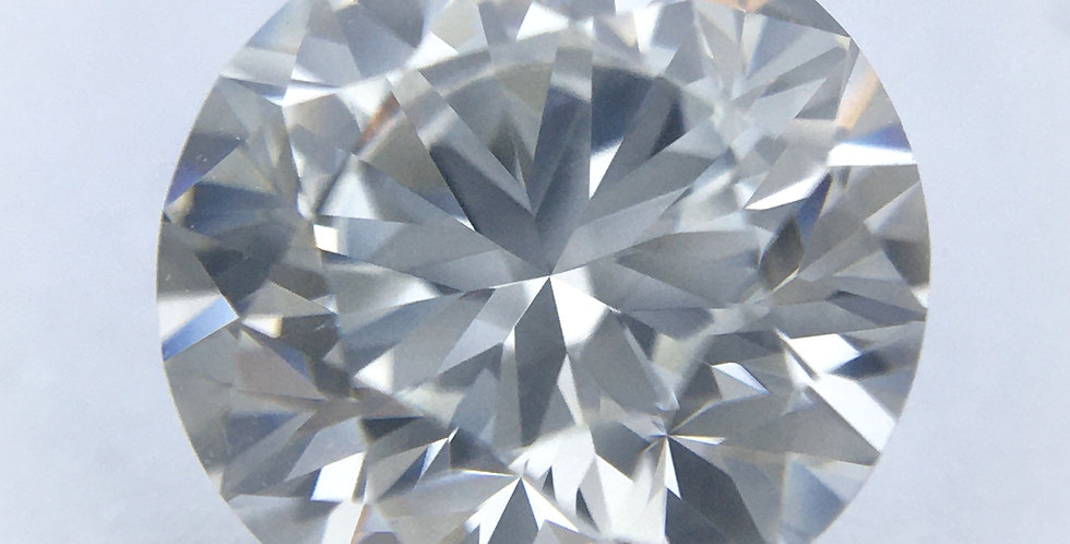 Round Brilliant 1.01ct F SI1 certified by GIA