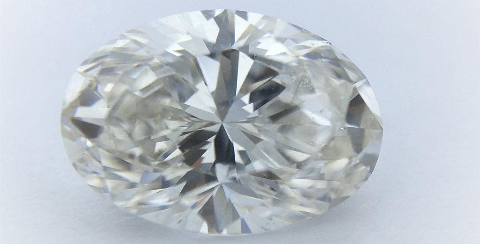 Oval 1.05ct I SI1 certified by HRD