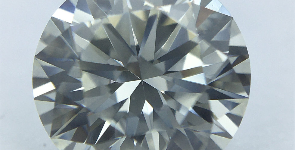 Round Brilliant 1.02ct J IF certified by HRD