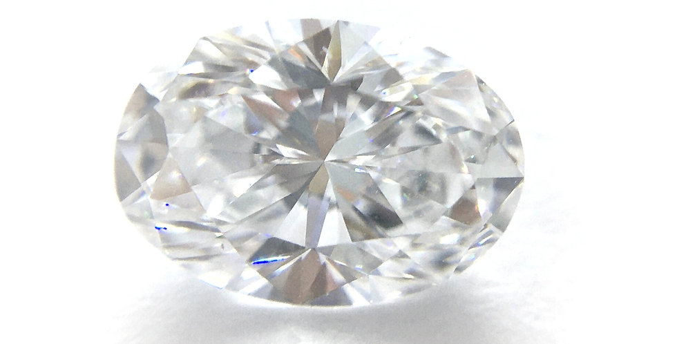 Oval 1.06ct D IF certified by GIA