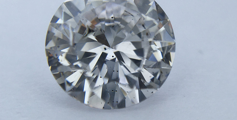 Round Brilliant 1ct F SI2 certified by HRD