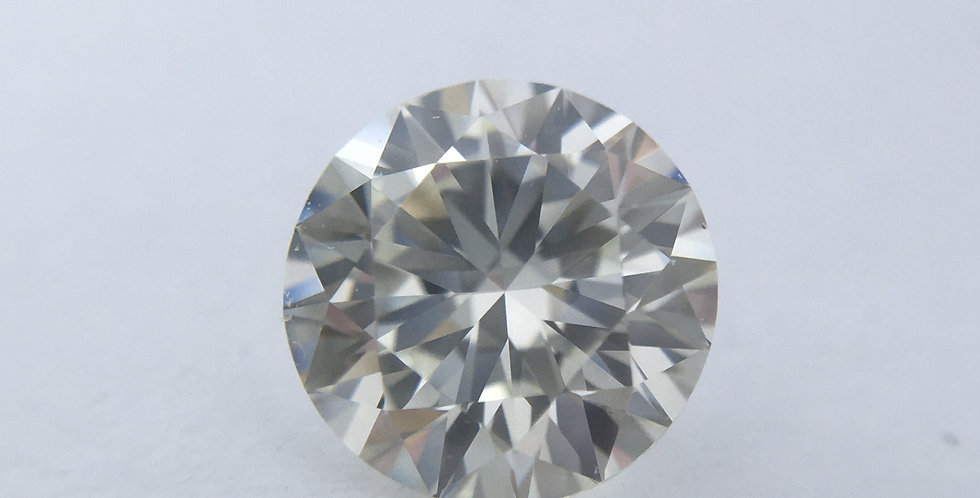 Round Brilliant 1ct J IF certified by GIA