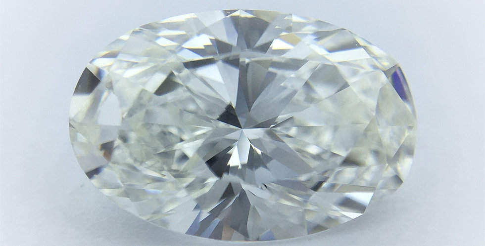 Oval 1.58ct G IF certified by GIA