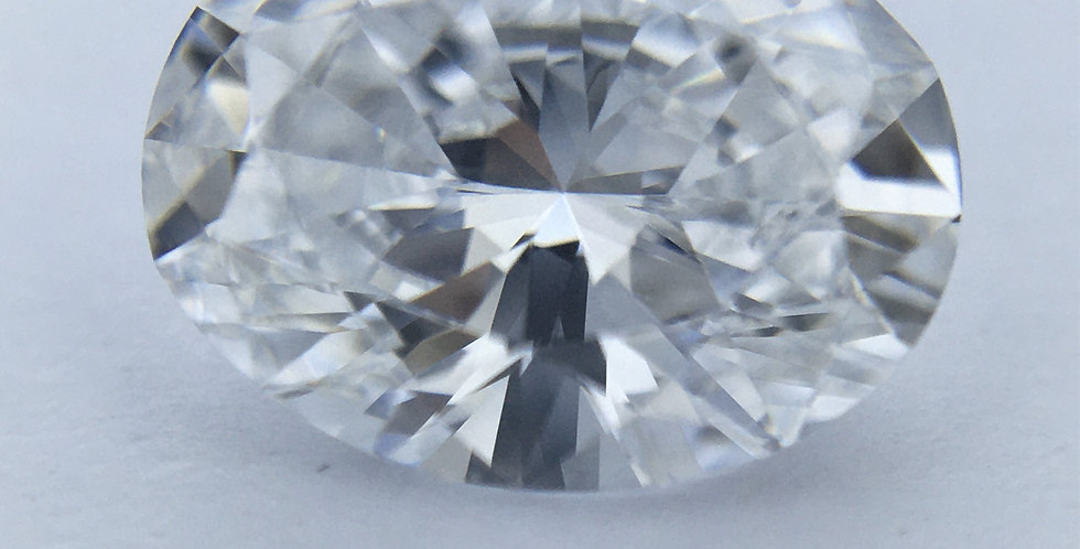 Oval 1.01ct D IF certified by HRD