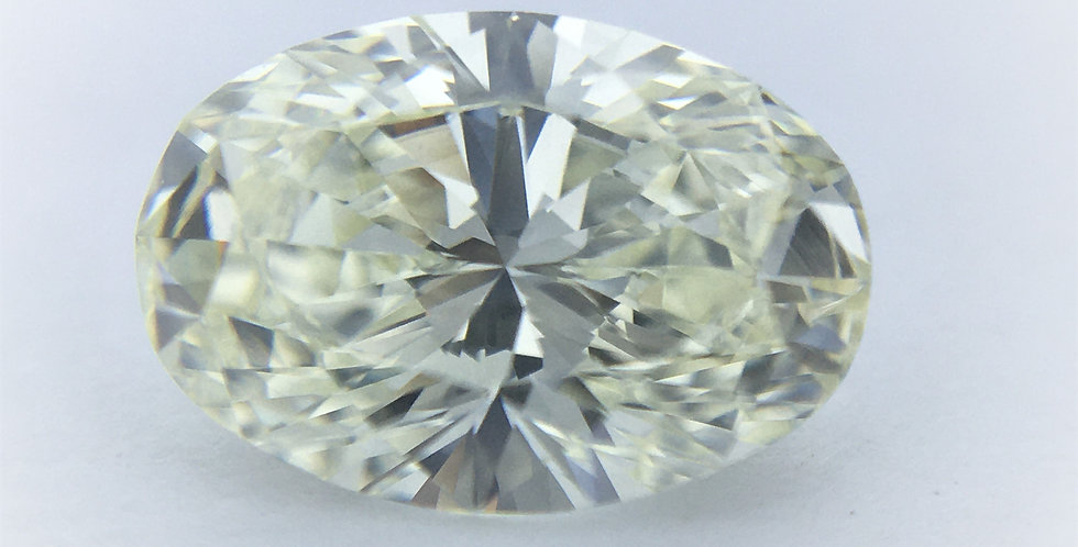 Oval 1.02ct K VVS1 certified by IGI