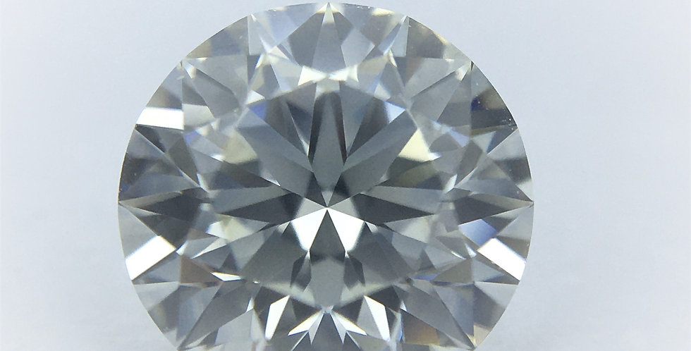 Round Brilliant 0.73ct H IF certified by IGI