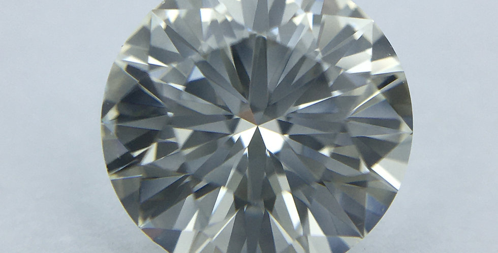 Round Brilliant 1.01ct J IF certified by HRD