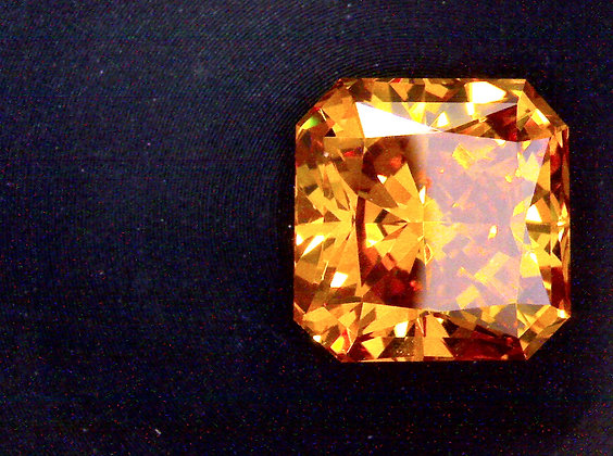Diamante Laranja Ecológico 2.20ct -Certificado IGI